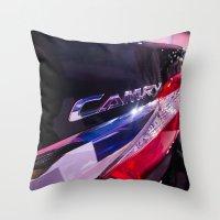 Toyota Camry Brand Logo Throw Pillow