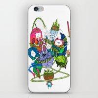 Adventure Time Fan Art C… iPhone & iPod Skin