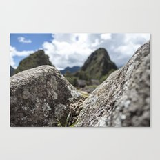 Mini Machu Picchu Peru  Canvas Print