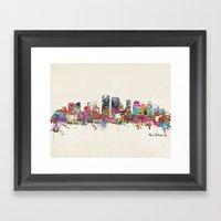 New Orleans Louisiana Sk… Framed Art Print