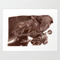 Chinks Art Print