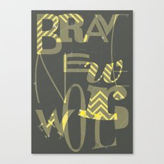 Brave New World, Book Cover Redesign Canvas Print