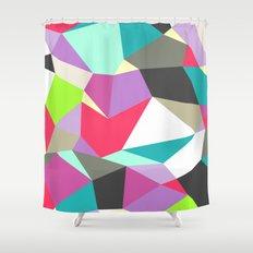 Geomesh 02 Shower Curtain