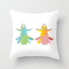 Mevlana - Whirling Dervish Throw Pillow