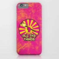 iPhone & iPod Case featuring All The Things by sophiedoodle