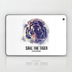 Save the Tiger  Laptop & iPad Skin