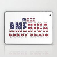 Make America Great Again - 2016 Campaign Slogan Laptop & iPad Skin