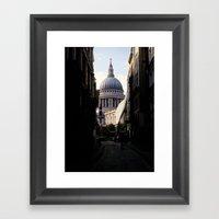 St. Paul's Framed Art Print