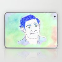 Jim Halpert Face.  Laptop & iPad Skin
