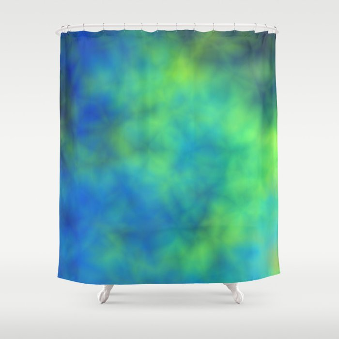 Blue And Green Shower Curtain By Christy Leigh Society6