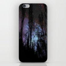 Black Trees Dark Space iPhone & iPod Skin