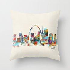 Saint Louis Missouri Sky… Throw Pillow