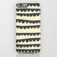 iPhone & iPod Case featuring Scalloped Garland by robyn wells