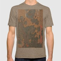 Krugger Mens Fitted Tee Tri-Coffee SMALL