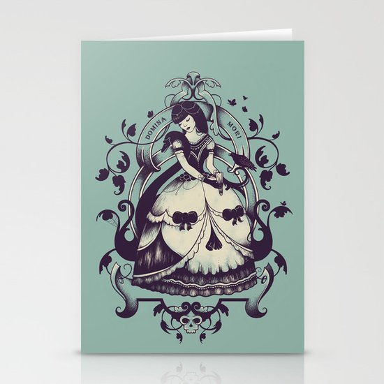 Mrs. Death Stationery Card