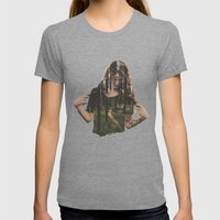 Became Womens Fitted Tee Tri-Grey SMALL