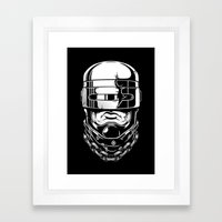 Hey, Robocop! Framed Art Print