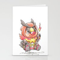 A Fire To Be Kindled Stationery Cards