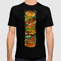 Grandwich Mens Fitted Tee Black SMALL