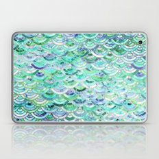 Marble Mosaic in Mint Quartz and Jade Laptop & iPad Skin