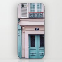 Paris Facades. iPhone & iPod Skin
