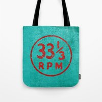 33 & a third RPM Circle Tote Bag