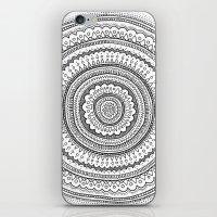 Carousel in B&W iPhone & iPod Skin