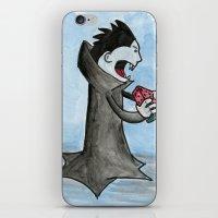 Vampire Eating a Watermelon iPhone & iPod Skin