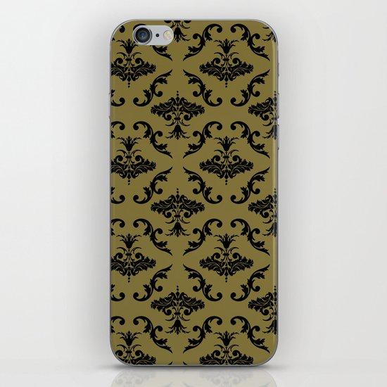 Gold Damask iPhone & iPod Skin