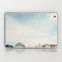 Beach Hut Sky  Laptop & iPad Skin