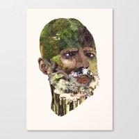 Earth Head Canvas Print