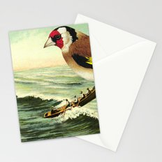 With rainfall and thunder close behind Stationery Cards