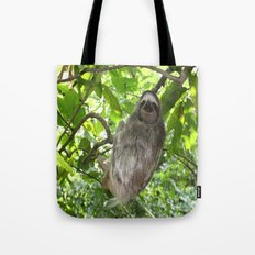 Sloths in Nature Tote Bag