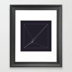 #115 Rip – Geometry Daily Framed Art Print