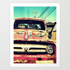 Old Things Are The Best … Art Print