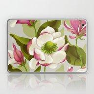 Laptop & iPad Skin featuring Magnolia Bloom - Daytime… by Lidija Paradinović …