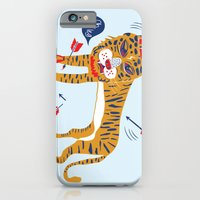 iPhone Cases featuring tiger by echo3005