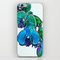 :: Orchids By The Sea :: iPhone & iPod Skin