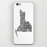 Typographic New York iPhone & iPod Skin