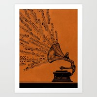 Facing The Music Art Print