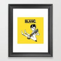 BLANKM GEAR - SHOTGUN GI… Framed Art Print