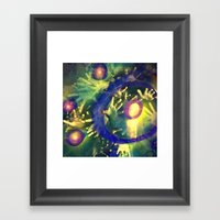Reach Out And Touch Fait… Framed Art Print