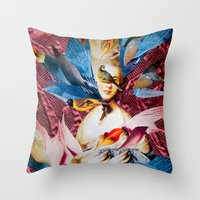 LADY GAINSBOROUGH Throw Pillow