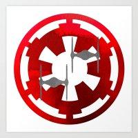 Star Wars Imperial Gray … Art Print