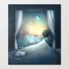 Not Sleepy Canvas Print
