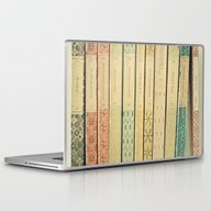 Laptop & iPad Skin featuring Old Books by Cassia Beck