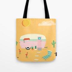 Happy Trailer Tote Bag
