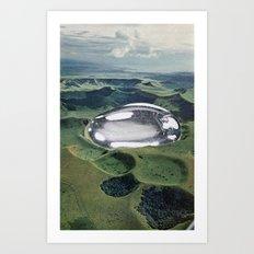 Terra Chrome Art Print
