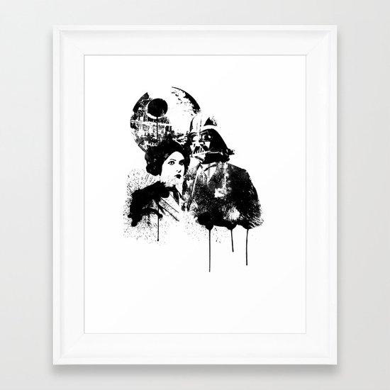 WARS II Framed Art Print