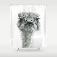 Ostrich G119 Shower Curtain